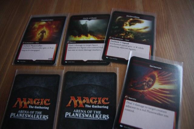 Карточки заклинаний MTG Arena of the Planeswalkers