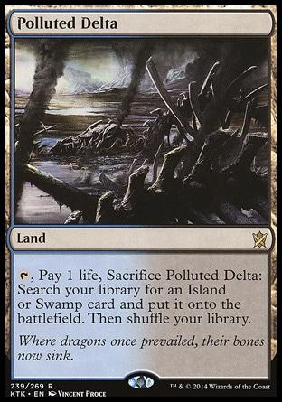 Polluted delta MTG