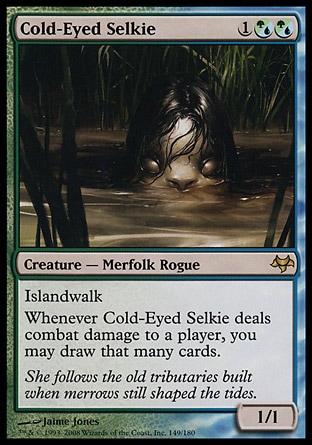 Cold-eyed selkie MTG