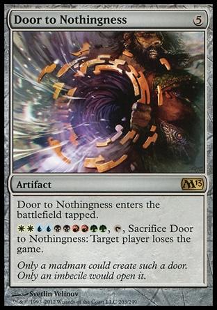 Door to nothingness MTG