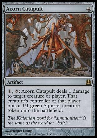 Acorn Catapult MTG
