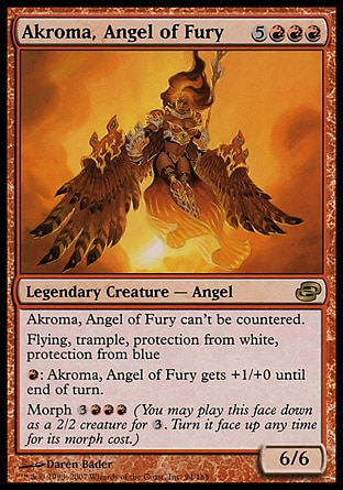 Akroma, angel of fury MTG