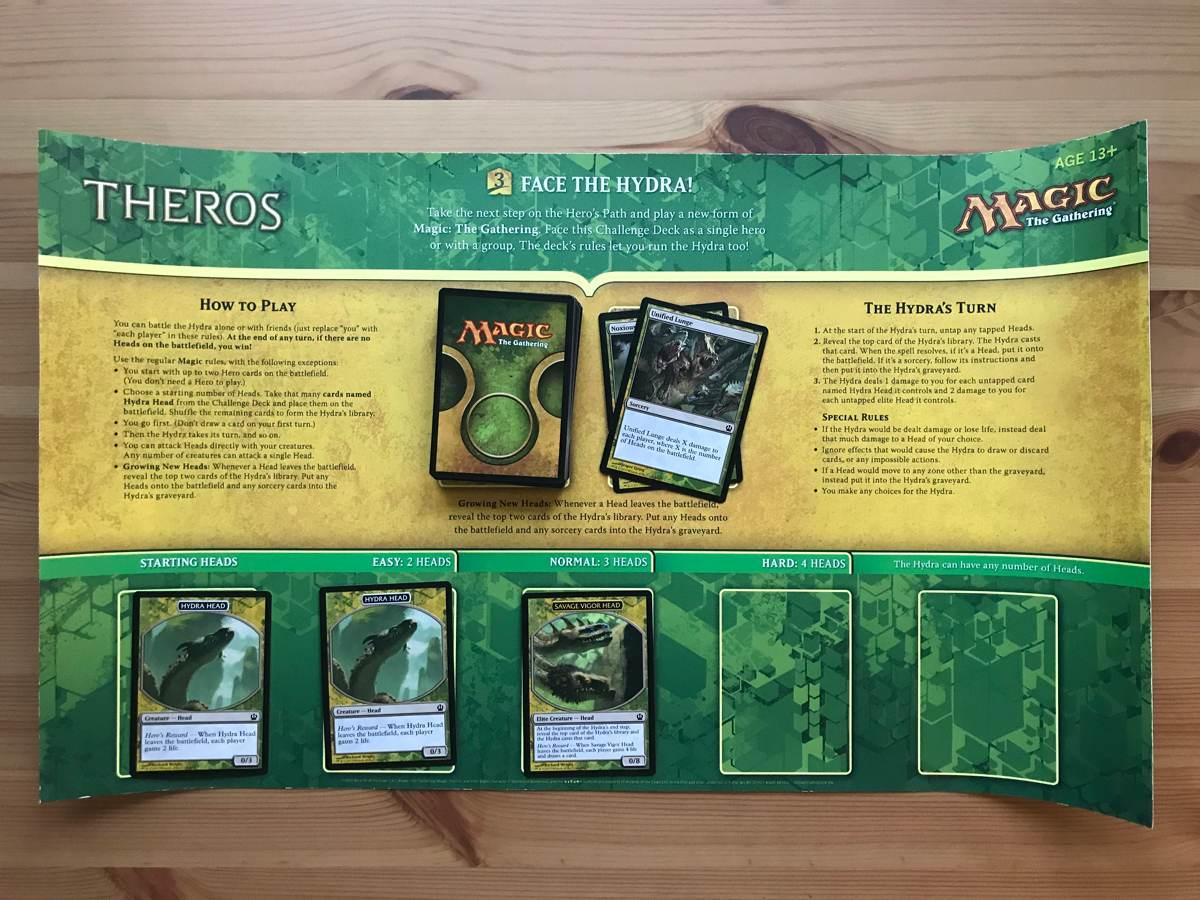 Виниловый коврик с правилами игры Face the Hydra