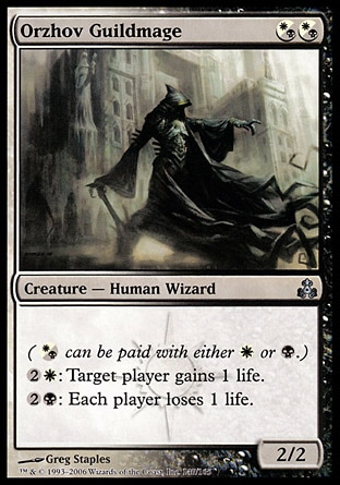 Orzhov Guildmage MTG