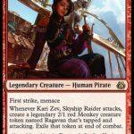 Kari Zev, Skyship Raider MTG