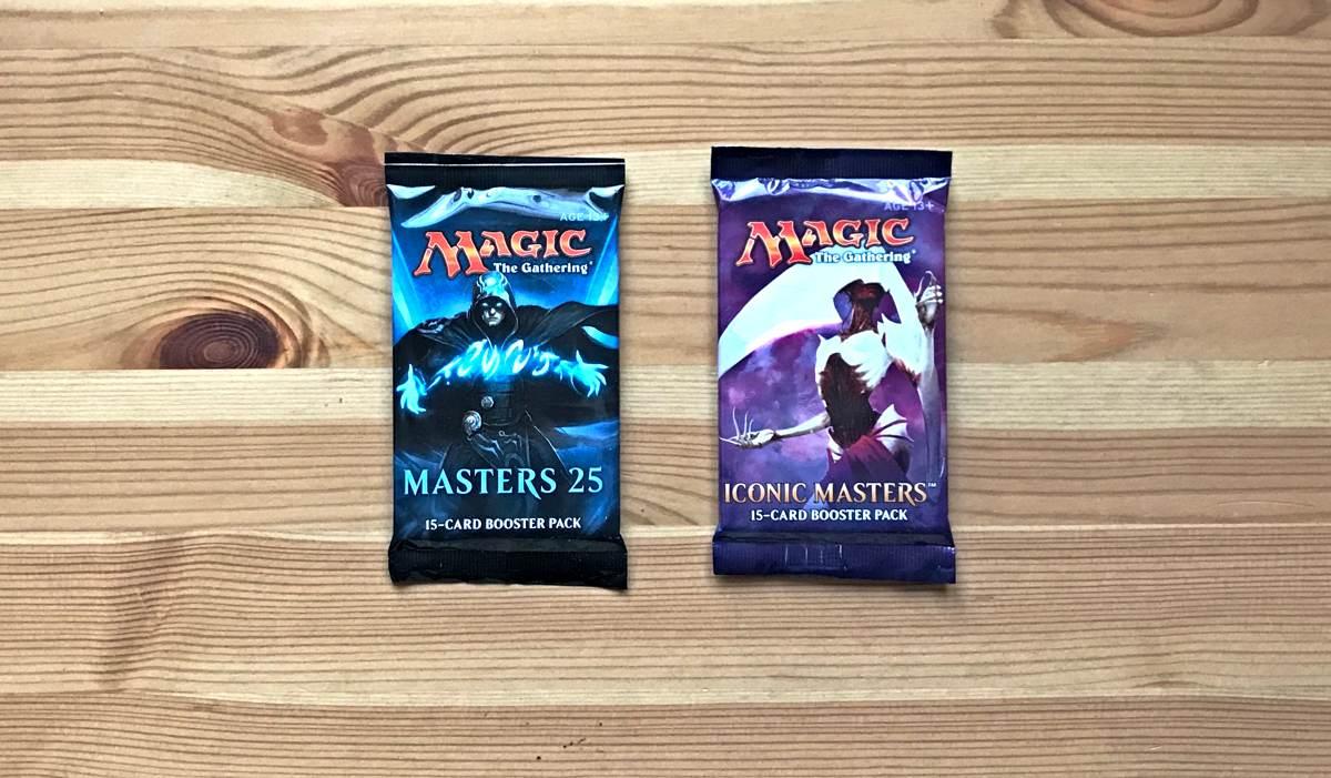 Бустер М25 и Iconic Masters