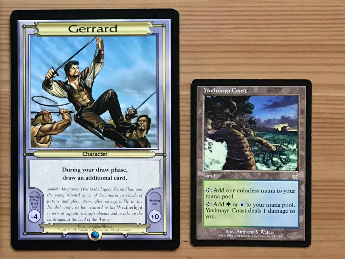 Gerrard Vanguard Card MTG