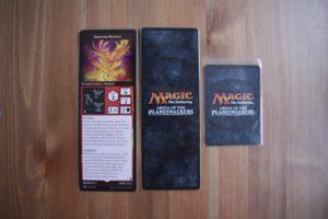 Лицевая сторона и рубашка карточки персонажа MTG Arena of the Planeswalkers