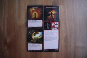 Карточки спеллов и персонажей MTG Arena of the Planeswalkers
