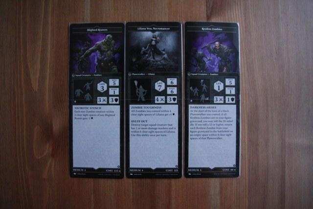 Карточки чёрных персонажей MTG Arena of the Planeswalkers