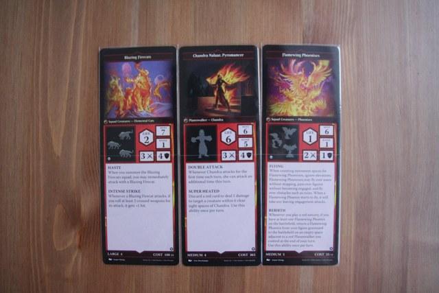 Карточки красных персонажей MTG Arena of the Planeswalkers