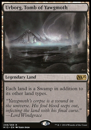 Urbord, Tomb of Yawgmoth