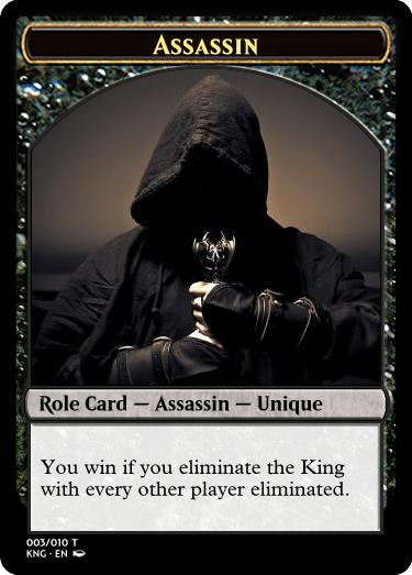 Kingdom magic assassin
