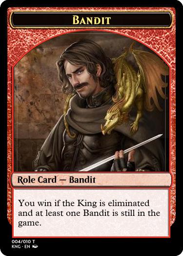 Kingdom magic bandit