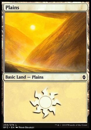 Basic Plains MTG