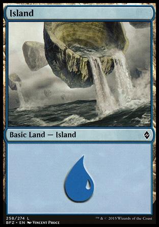 Basic Island MTG