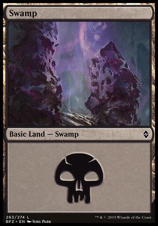 Basic Swamp MTG
