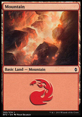 Basic Mountain MTG