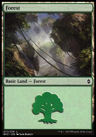 Basic Forest MTG