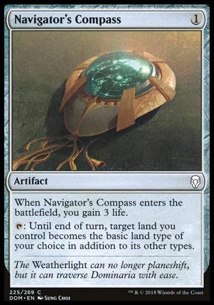 Navigator's Compass MTG