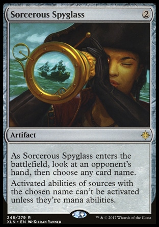 Sorcerous Spyglass MTG