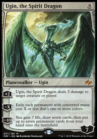 Ugin, the Spirit Dragon MTG