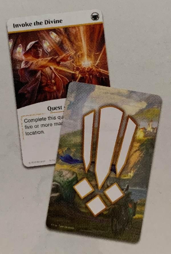 карточки квестов в Heroes of Dominaria