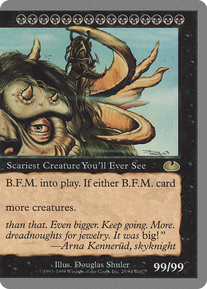 b. f. m. big furry monster pt2